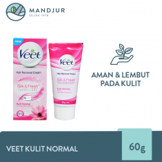 Veet Hair Removal Cream Normal Skin 60 gr