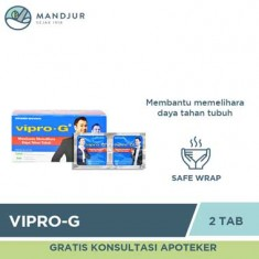 Vipro G Strip Isi 2 Tablet