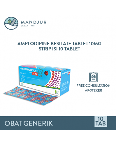 Amlodipine Besilate 10 mg