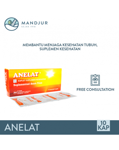 Anelat Strip 10 Kaplet