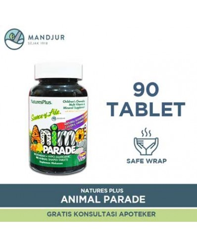 Natures Plus Animal Parade Multivitamin & Mineral 90 Tablet