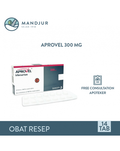 Aprovel 300 Mg Strip 14 Tablet