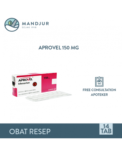 Aprovel 150 Mg Strip 14 Tablet