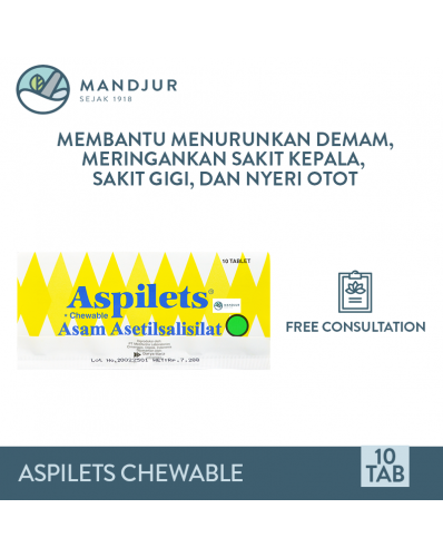 Aspilets Chewable Vector