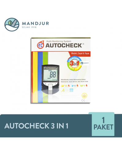 Autocheck 3 in1 Alat Test Darah