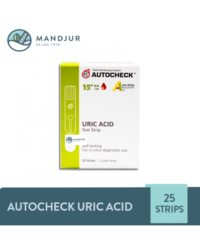Strip Autocheck Uric Acid Isi 25