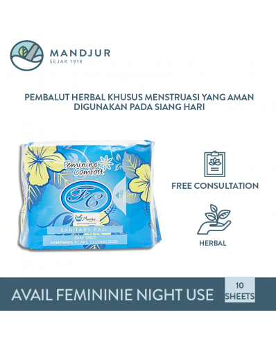 Pembalut Avail Feminine Comfort Day Use (Biru)