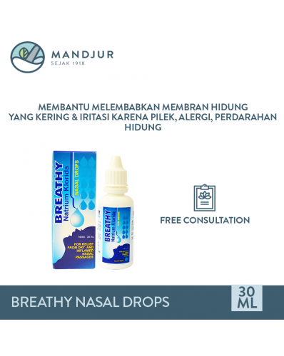 Breathy Nasal Drops 30 mL