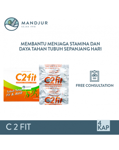 C2FIT Strip Isi 4 Tablet