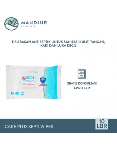 Care Plus Septi Wipes Isi 10 Lbr