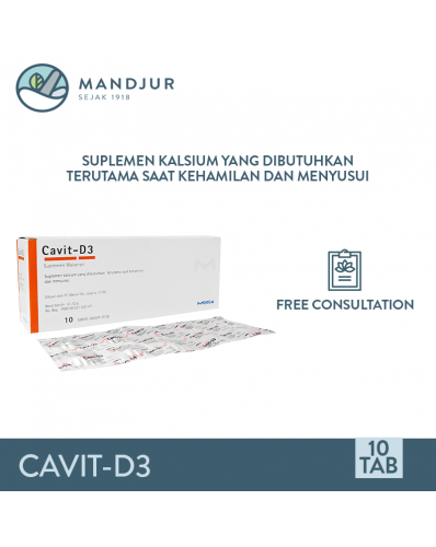 Cavit D3 Strip 10 Tablet