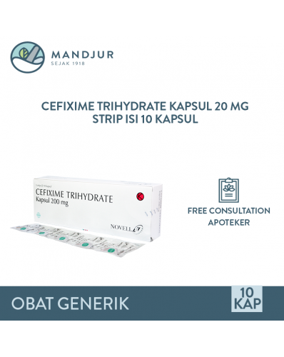 Cefixime 200 mg Strip 10 Tablet