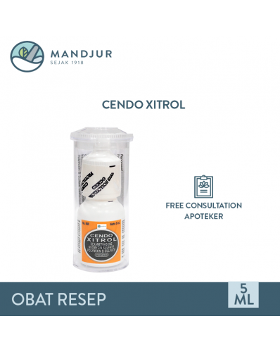 Cendo Xitrol Eye Drop 5 mL