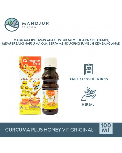 Curcuma Plus Honey Vit Original 100 mL