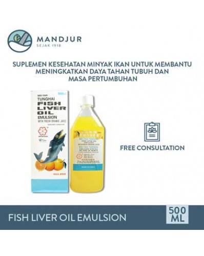Fish Liver Oil Emulsion (Mei Fah Tunghai) vector