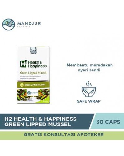 H2 Health & Happiness Green Lipped Mussel