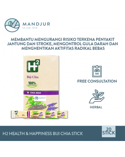 H2 Health & Happiness Biji Chia Stick Pack