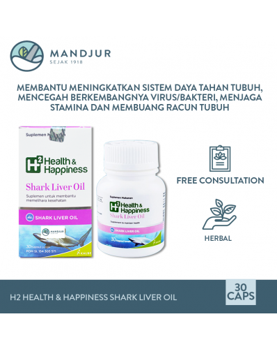 H2 Health & Happiness Shark Liver Oil
