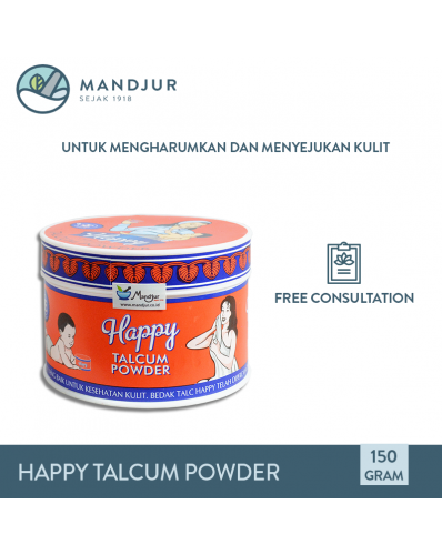 Bedak Happy Talcum Powder