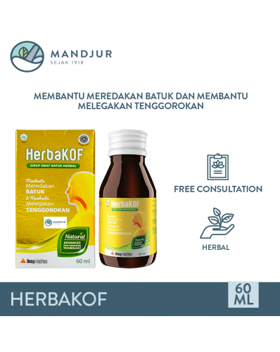 HerbaKOF Syrup 60 mL