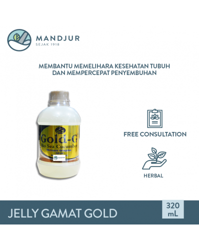 Jelly Gamat Gold - G Sea Cucumber 320 mL