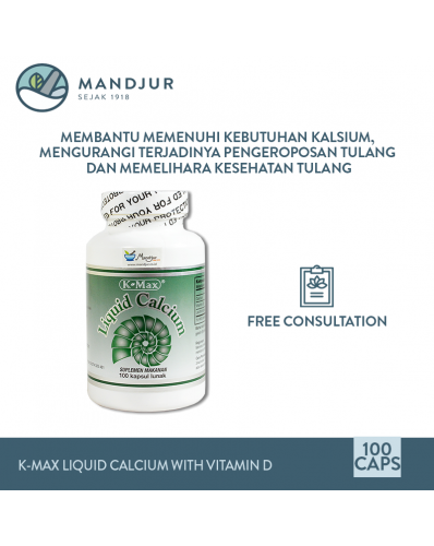 K-Max Liquid Calcium with Vitamin D