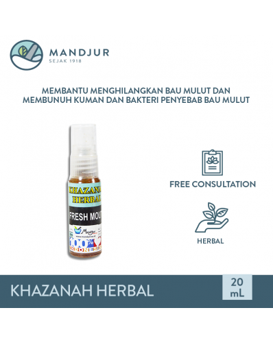 Khazanah Herbal Fresh Mouth