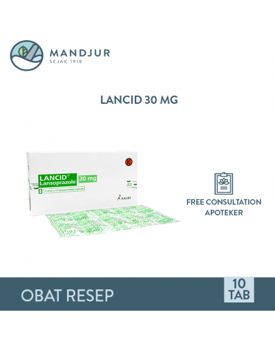 Lancid 30 Mg Strip 10 Tablet