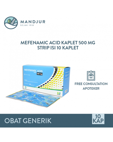 Mefenamic Acid / Asam Mefenamat 500 Mg Strip 10 Tablet