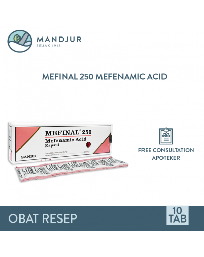 Mefinal 250 Mg Strip 10 Kapsul