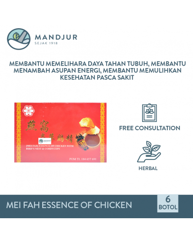 Essence Of Chicken With Bird Nest & Cordyceps