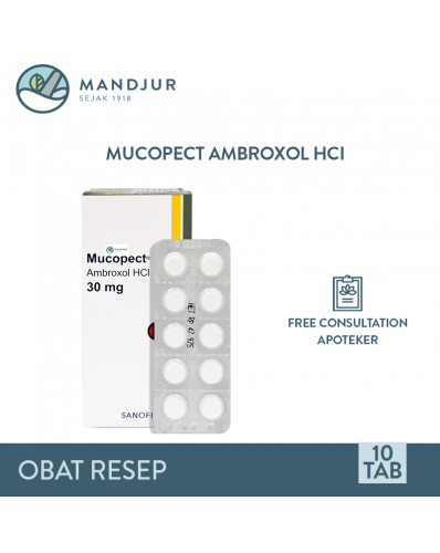 Mucopect 30 Mg Strip 10 Tablet