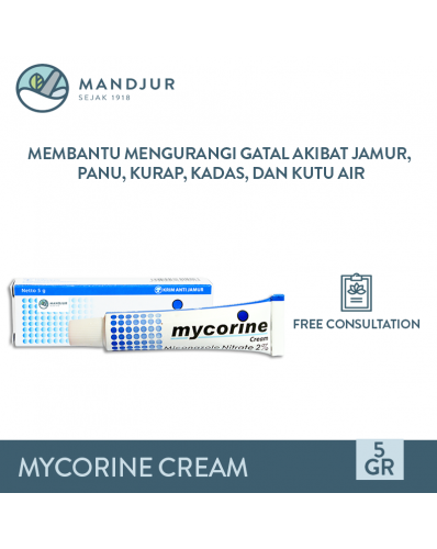 Mycorine Cream 5 Gr