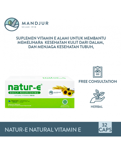 Natur E Natural Vitamin E 100 IU