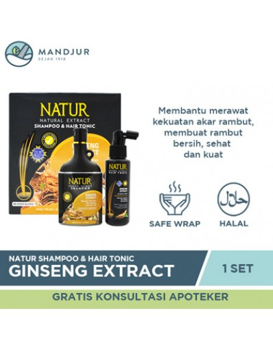 Natur Shampoo & Hair Tonic 2 in 1 Ginseng Extract