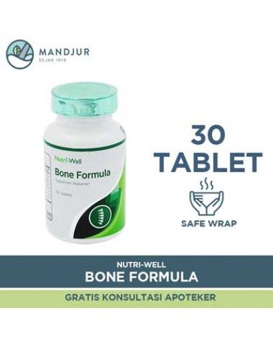 Nutriwell Bone Formula 30 Tablet
