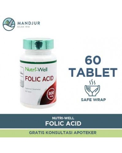 Nutriwell Folic Acid 60 Tablet
