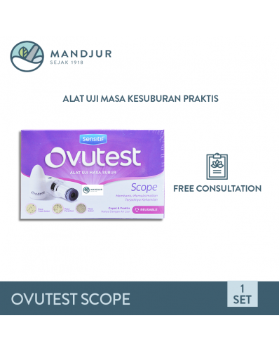 Ovutest Scope (Alat Uji Masa Subur)