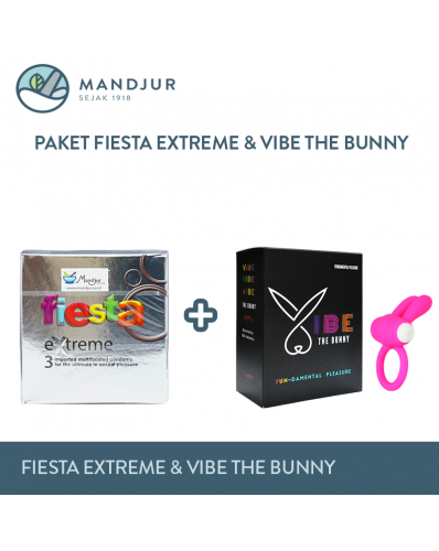 Paket Fiesta Extreme dan Vibe The Bunny