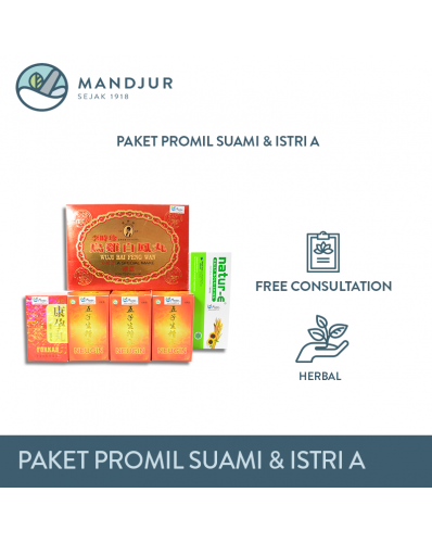 Paket Promil Suami & Istri A