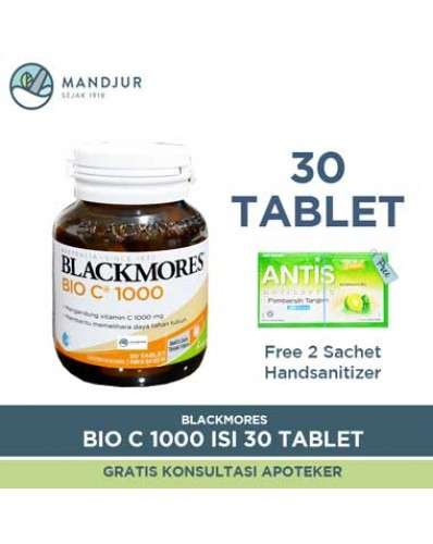 Blackmores Bio C 1000mg - Isi 30 Tablet