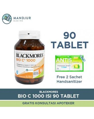 Blackmores Bio C 1000mg - Isi 90 Tablet