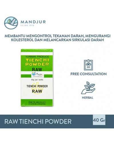 Raw Tienchi Powder Vector