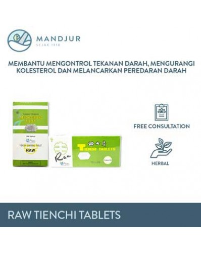 Raw Tienchi Tablets