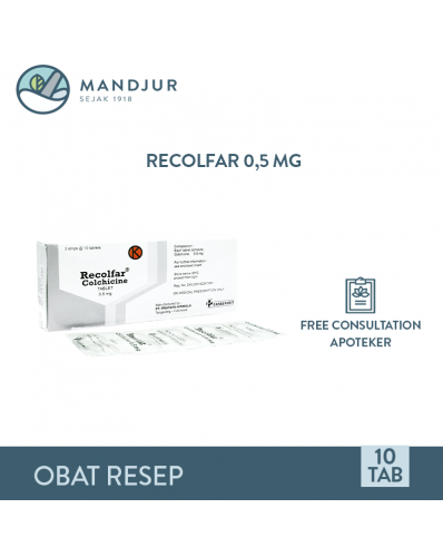 Recolfar 0.5 Mg Strip 10 Tablet