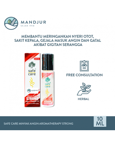 Safe Care Minyak Angin Aromatherapy Strong 10 mL