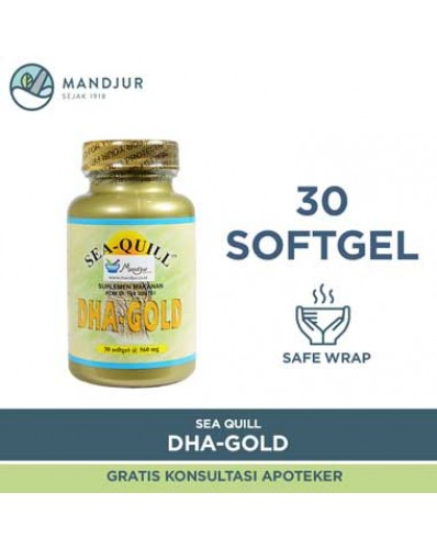 Sea-Quill DHA Gold Isi 30