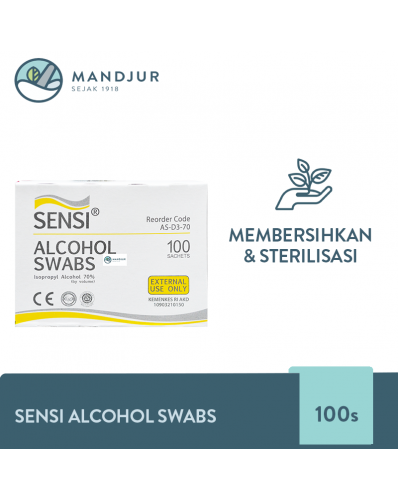 Sensi Alcohol Swabs