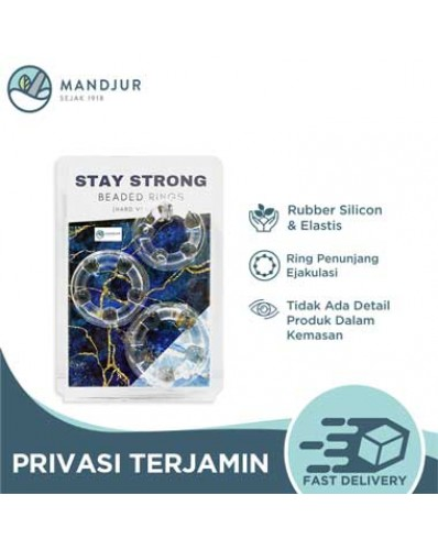 Beaded Stamina Rings - Stay StronG