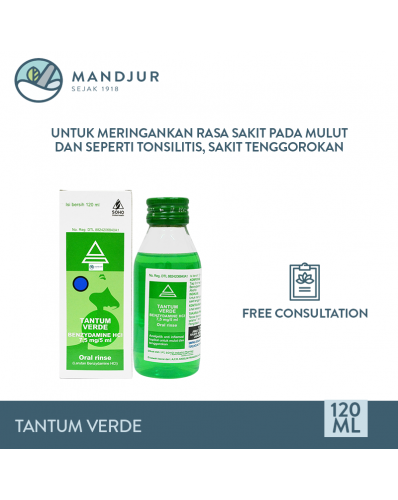 Tantum Verde Oral Rinse 120 mL